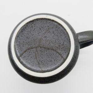 unknown Kitchen - Owl Stoneware Coffee/Tea Mug With Flowers On Black